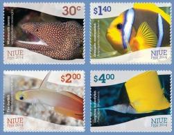 niu1402 Niue 2014 Fish 4v