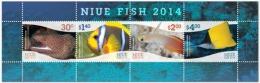 niu1402s Niue 2014 Fish s/s