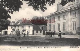 78 - ACHERES - Le Chateau De La Muette - Foret De Saint Germain - écrite 1913   - 2 Scans - Acheres