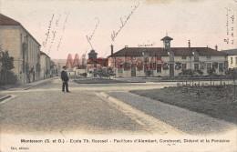 78 - MONTESSON - Ecole TH. ROUSSEL - Pavillons D'Alembert, Condorcet, Diderot Et La Fontaine - écrite 1906 - 2 Scans - Montesson
