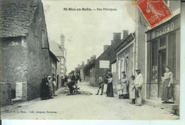 SAINT BIEZ En BELIN Rue Principale - France