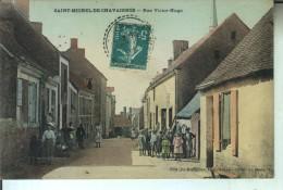 SAINT MICHEL De CHAVAIGNES Rue Victor Hugo - France