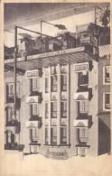 "Old Postcard : ""Hotel Rivoli, Propr A Maeren, 120 Avenue De La Mer, La Panne""  B/W Printed, Publisher A Dohmen - Other"