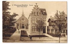 Watermael Boitsfort Watermaal Bosvoorde Floreal (20) Eglise Notre Dame - Watermael-Boitsfort - Watermaal-Bosvoorde