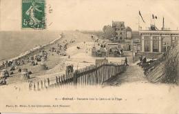 CPA - 80 - ONIVAL - Descente Vers Le Casino Et La Plage - SOMME - PICARDIE - Onival