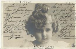 =AK DE 1904 Kinder  Coresp. Georg- Elisabet - Abbildungen