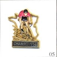 Pin´s - Sport - Cyclisme / Tour De France - Etape De Chamrousse (38). Est. Martineau. Métal Peint. T313-05 - Cyclisme