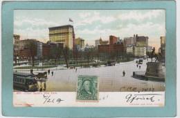 NEW  YORK  -  UNION  SQUARE  -  1907  -  CARTE  PRECURSEUR  - - Places & Squares