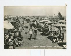 MILANO MARITTIMA-CERVIA,la Spiaggia-1957-Spiaggia Animata-!!!!!! - Forlì