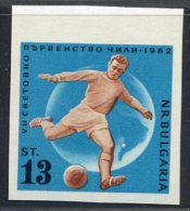BULGARIE 1962 - ** - YT 1139 ND - Coupe Monde Chili - Football Soccer 3-13 - Coupe Du Monde