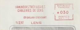 """Métallurgie, Laminoir, Cable, Lens - EMA Havas """"MW"""" De Remplacement - Enveloppe Entière (P415) - Profesiones"""