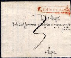 Grottaminarda-00335c - Piego (con Testo) Del 7 Aprile 1832 - - Italia