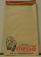 ANCIEN CARNET PUB COCA COLA . POUR CAFE BAR RESTAURANT - Publicités