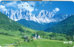 100 - N. 5 CARTE TELEF. GIAPPONE SOGG. MONTAGNE - Montagne
