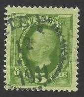 Sweden, 5 O. 1897, Sc # 56, Mi # 41b, Used. - Oblitérés