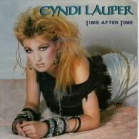 Cyndi Lauper: Time After Time  /  I`ll Kiss You  - Epic Portrait PRTA 4290 - Disco, Pop