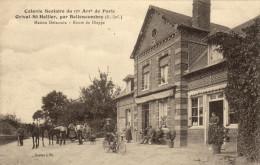76 Orival Saint Hellier. Colonie Scolaire Du 17 E Arrondissement De Paris. Maison Delacroix. Route De Dieppe - Other Municipalities