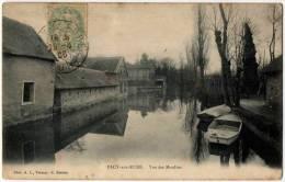 Pacy Sur Eure Vue Moulins 1906 Très Bon état - Pacy-sur-Eure