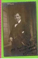 Mario �Carmen�  autographe (+- 1900)