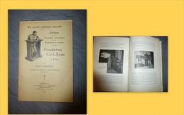 PHOTOGRAPHIE Fondation Carl-ZEISS à Iéna, Félix Auerbach, 1906 ; Ref 385  C2 - Bücher, Zeitschriften, Comics