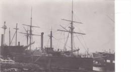 Batiment Militaire Marine Francaise Aviso Antilope 1871-84 A Roues Tampon Musee De La Marine Palais De Chaillot - Boats