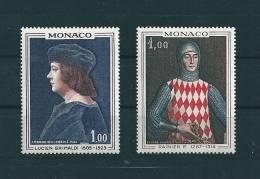 Monaco Timbre De 1967   N°734/35  Timbres Neuf ** - Monaco