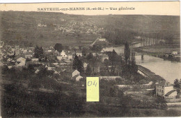 NANTEUIL Sur MARNE 77  Vue Générale - Frankrijk