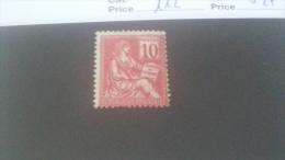 LOT 241047 TIMBRE DE FRANCE NEUF* N�112 VALEUR 27 EUROS