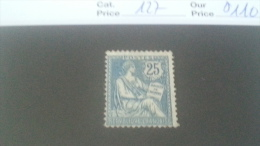 LOT 241048 TIMBRE DE FRANCE NEUF* N�127 VALEUR 110 EUROS