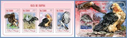st14602ab S.Tome Principe 2014 Birds of prey Eagle 2 s/s