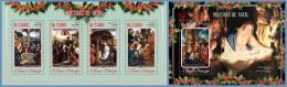 st14605ab S.Tome Principe 2014 Christmas 2 s/s