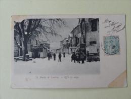 St Martin De Londres Effet De Neige 1906 - Sonstige Gemeinden