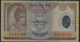 Nepal Billet 10 RUPES - Nepal