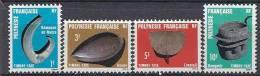 1984 POLYNESIE Taxe 4-7**  Artisanat - Timbres-taxe