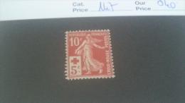 LOT 241057 TIMBRE DE FRANCE NEUF* N�147 VALEUR 40 EUROS