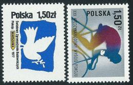 Polonia 1977 Nuovo** - Mi.2502/3  Yv.2332/3 - 1944-.... Repubblica