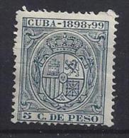 Spain (Cuba)  1898  (*) MH  ? - Cuba (1874-1898)