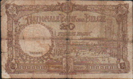 Belgique 20 FRANCS -1941 - [ 2] 1831-... : Belgian Kingdom