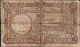 Belgique 20 FRANCS -1941 - [ 2] 1831-... : Koninkrijk België