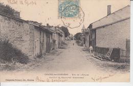 CHATEL CHEHERY - Rue De L´église - Canton De Grandpré ( Ardennes )   PRIX FIXE - Altri Comuni