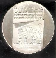 MONEDA DE PLATA DE ISRAEL DE 10 LIROT DEL AÑO 1973 (COIN) SILVER-ARGENT - Israel
