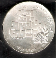 MONEDA DE PLATA DE ISRAEL DE 10 LIROT DEL AÑO 1969 (COIN) SILVER-ARGENT - Israel