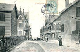 N°2345A -cpa Berck Plage -rue De La Mer- - Berck