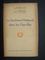 AF. Lot. 296. Le Sentiment National Dans Les Pays-Bas. 1943 - Libros, Revistas, Cómics