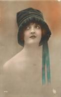 Ref D236- Portrait De Femme Et Son Beau Chapeau -theme Chapeaux  - Carte Bon Etat - - Femmes
