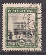 VATICANO 1933 GIARDINI E MEDAGLIONI SASS. 21 USATO VF - Usati