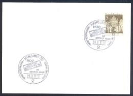 Germany Deutschland 1968 Card: Space Weltraum; Hog Im Amerika Haus: Raumfart Und Raketen; - FDC & Gedenkmarken