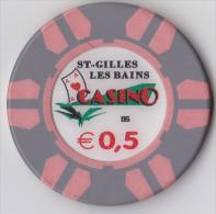 Casino De La Réunion, St Gilles Les Bains 0,5 € - Casino