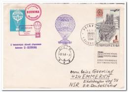 Tsjechoslowakia 1964, Hot Air Balloon - Luchtballons