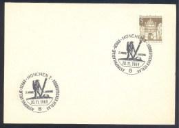 Germany Deutschland 1969 Card: Space Weltraum; Second Moon Lasnding; 2. Mond Landung - FDC & Gedenkmarken